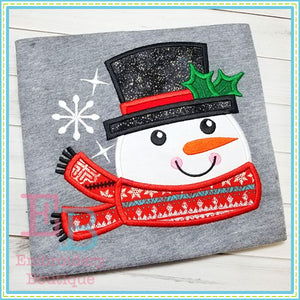 Frosty Applique - embroidery-boutique
