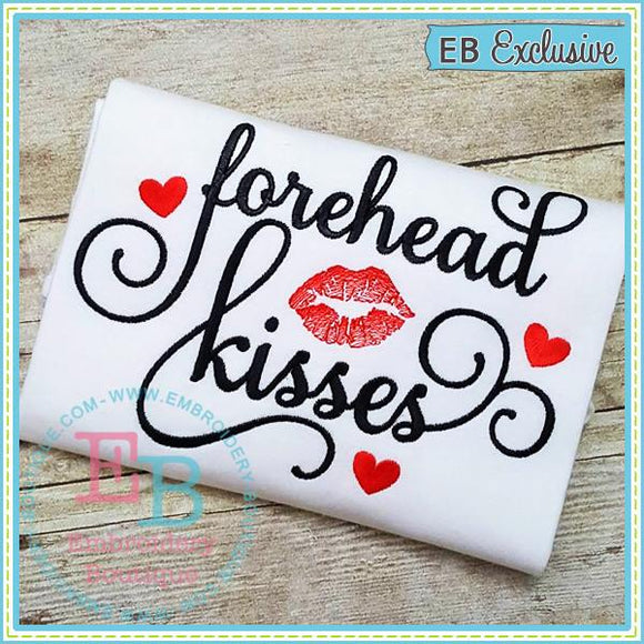 Forehead Kisses Design - embroidery-boutique