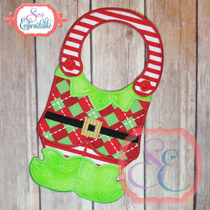 ITH Elf Body Bib - embroidery-boutique