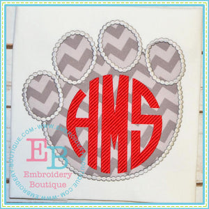 Dotted Elephant Hoof Applique