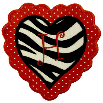 Heart Applique Alphabet - embroidery-boutique