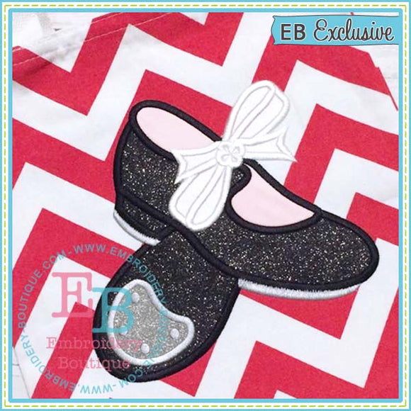 Tap Shoes Applique