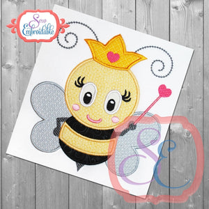 Queen Bee Applique