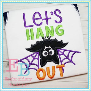 Let's Hang Out Applique, Applique