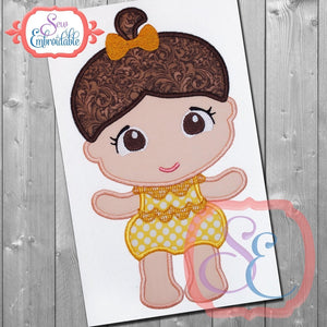 Baby Princess 5 Applique - embroidery-boutique