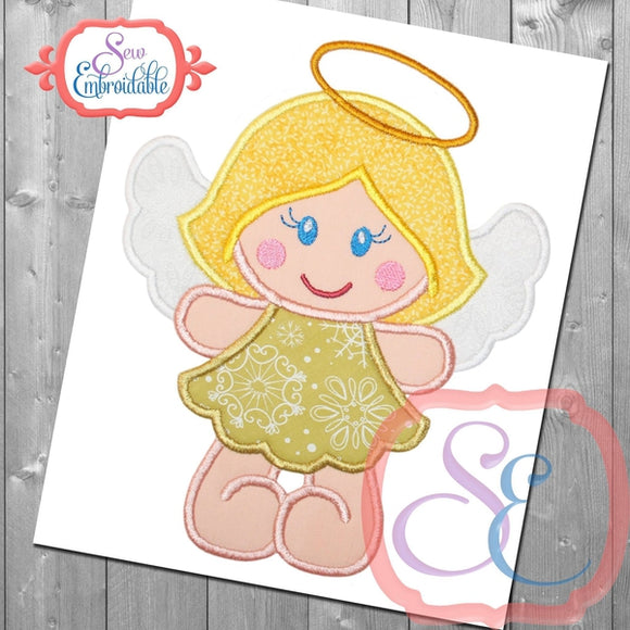 Angel Cutie Applique, Applique