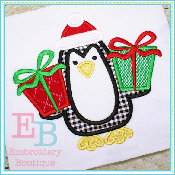 Penguin Presents Applique - embroidery-boutique