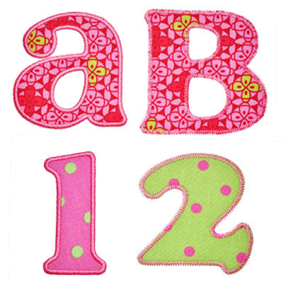 Versatile Applique Alphabet - embroidery-boutique