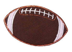 Football Applique - embroidery-boutique