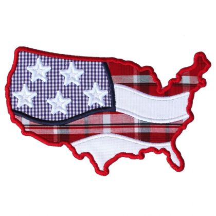 United States Applique - embroidery-boutique
