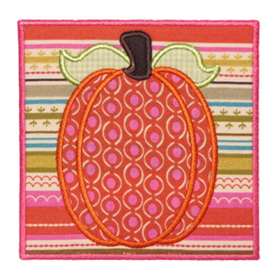 Pumpkin Patch Applique - embroidery-boutique