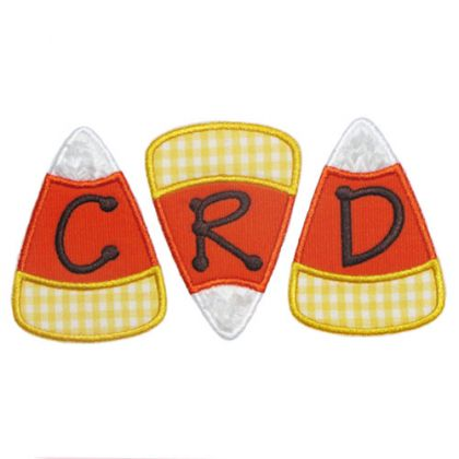 Three Candy Corn Applique - embroidery-boutique