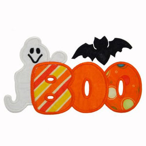 Boo Applique - embroidery-boutique