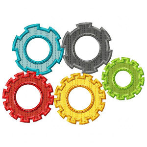Gears Applique
