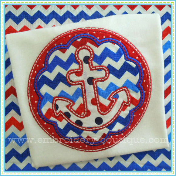 Anchor Patch Applique, Applique
