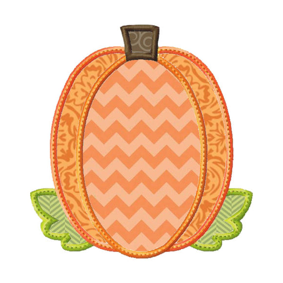Fall Pumpkin 2 Applique
