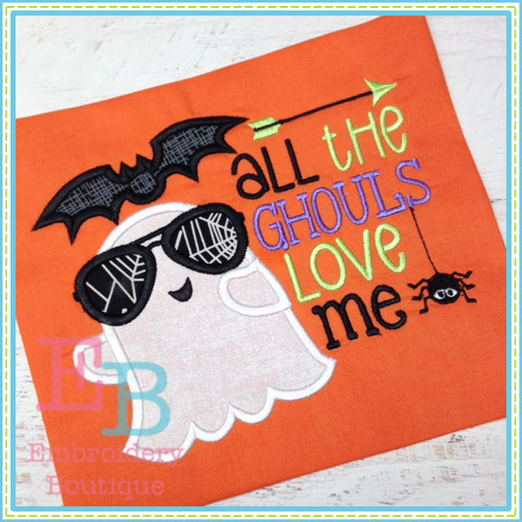 All Ghouls Love Me Applique