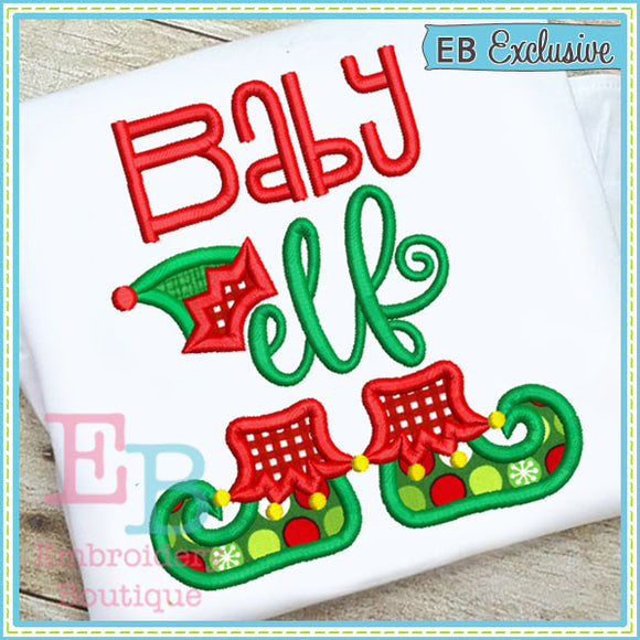 Baby Elf Applique - embroidery-boutique