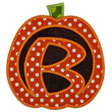Carved Pumpkin Alphabet - embroidery-boutique