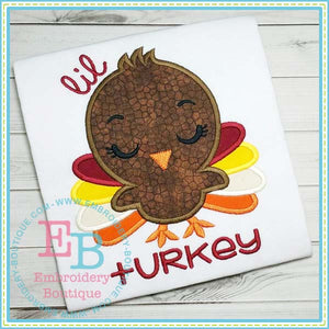 Lil Turkey Applique