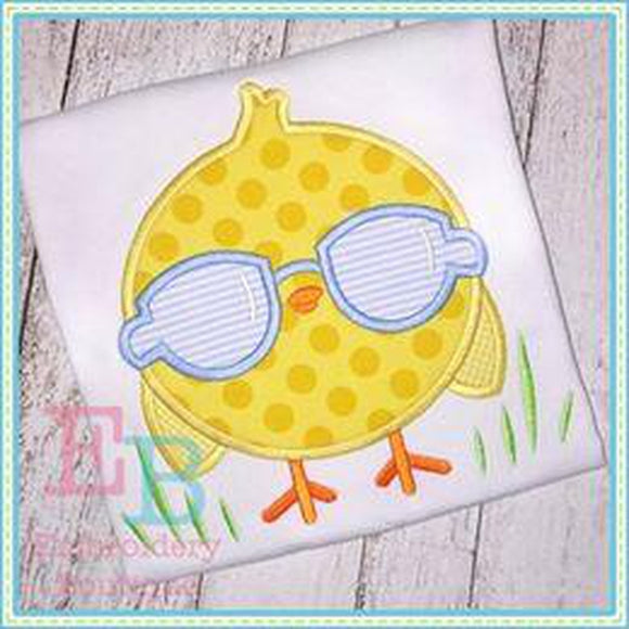 Chick Magnet Applique EB, Applique