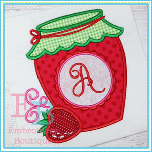 Strawberry Jam Applique, Applique