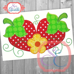 Strawberry Fields Applique - embroidery-boutique