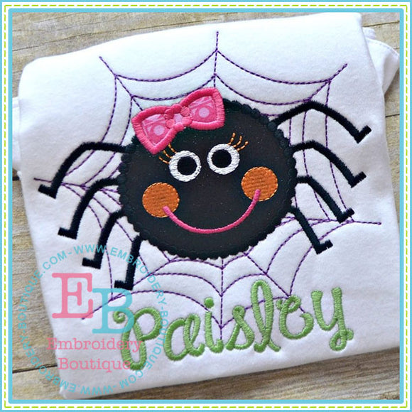 Dotted Spider Applique