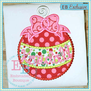 Dotted Ornament Applique