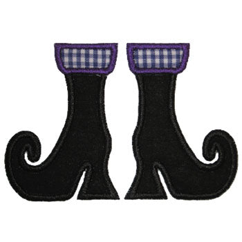 Witch Boots Applique