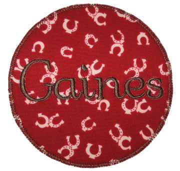 Circle Patch Applique - embroidery-boutique