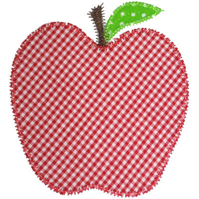 Apple Applique - embroidery-boutique
