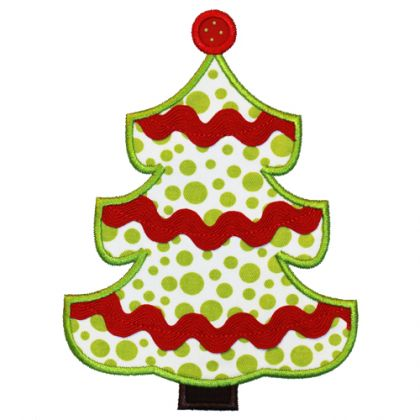 Trim A Tree Applique - embroidery-boutique