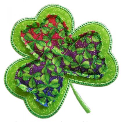Layered Shamrock Applique