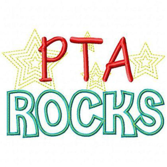 PTA Rocks, Applique
