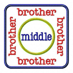 Middle Brother Patch