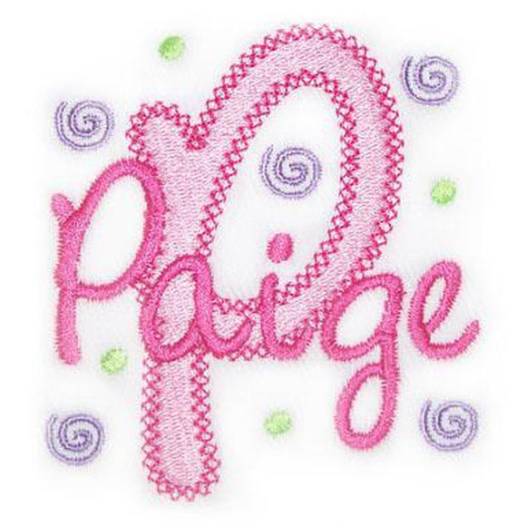 Vintage Chloe Embroidery Font, Embroidery Font