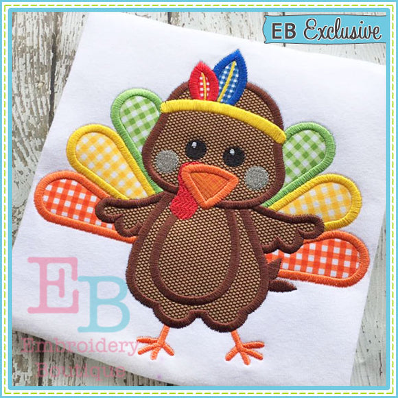 Indian Turkey Applique