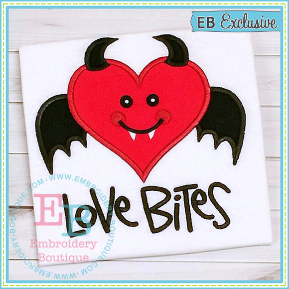 Love Bites Applique - embroidery-boutique
