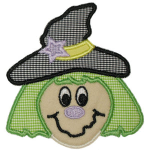 Witch Applique - embroidery-boutique