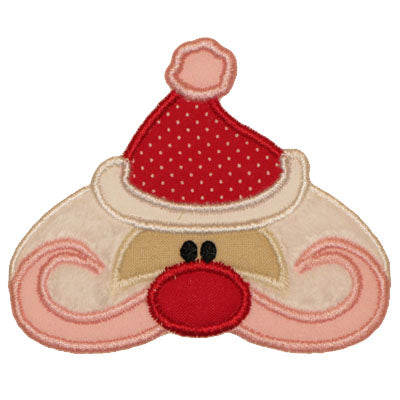 Cute Santa Applique - embroidery-boutique