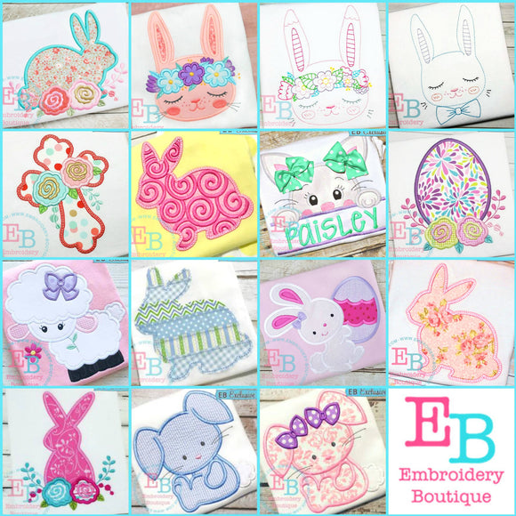 Easter Embroidery Bundle