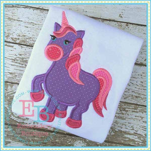 Unicorn Applique - embroidery-boutique