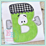 Frankie Applique Alphabet - embroidery-boutique