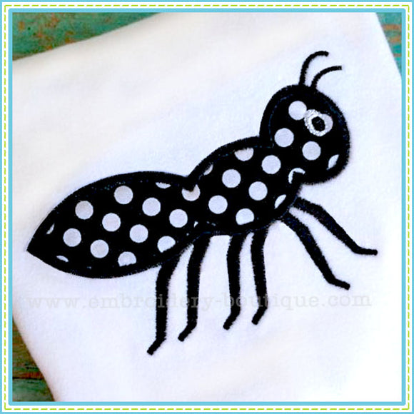 Ant Applique, Applique