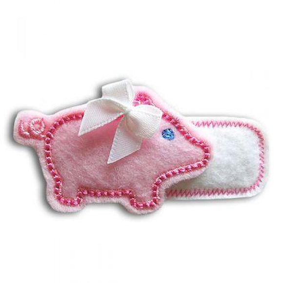 Pig Clip Centers - embroidery-boutique