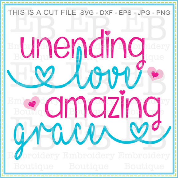 Unending Love SVG, SVG Cut Files