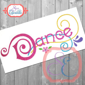Dance Embroidery Design - embroidery-boutique