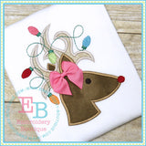 Deer Lights Applique - embroidery-boutique