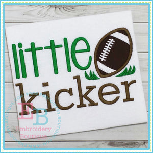Little Kicker Applique, Applique